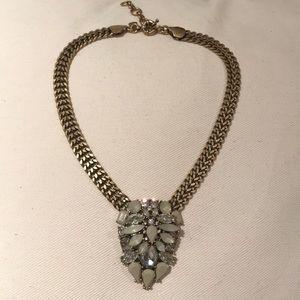 J.Crew Crystal Pendant Necklace